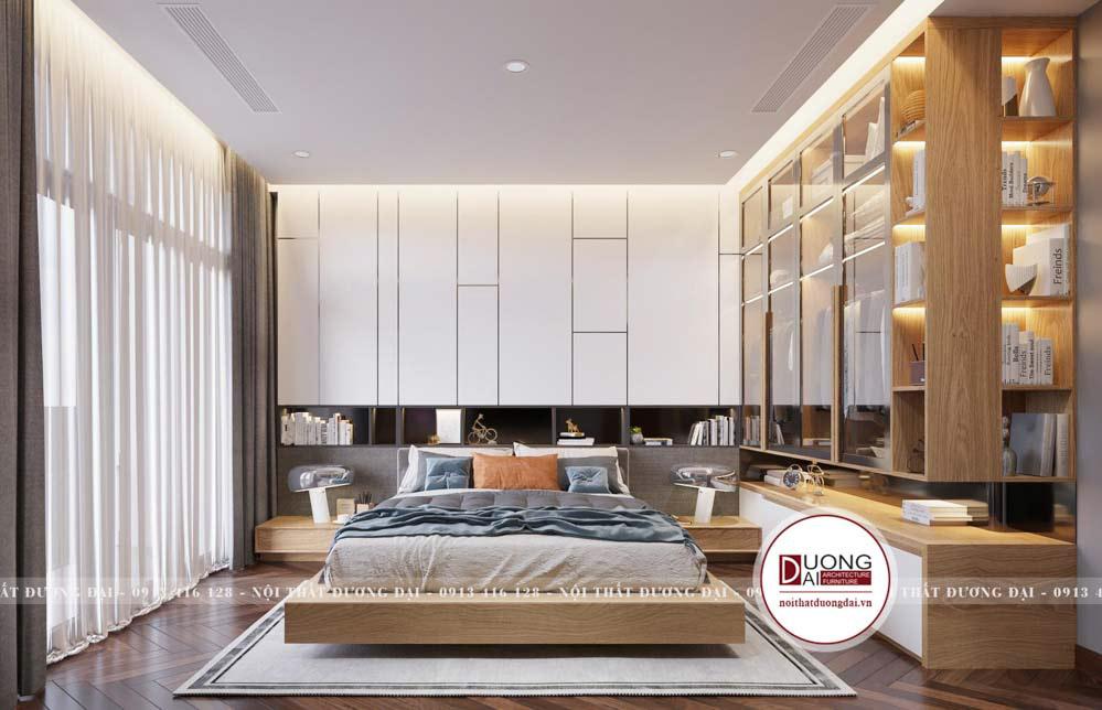 Phòng ngủ nhà ống 5m thiết kế hoàn mỹ khiến ai cũng mê mẩn