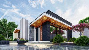 Biệt thự nhà vườn siêu hiện đại với kiến trúc độc đáo
