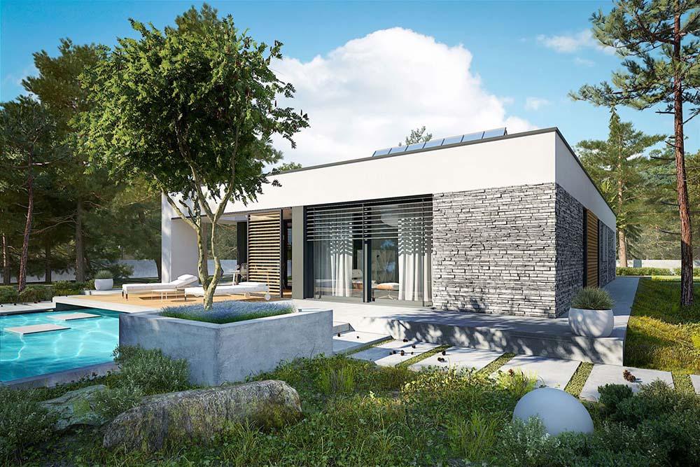 Mái bằng giúp căn nhà bền bỉ với thời gian