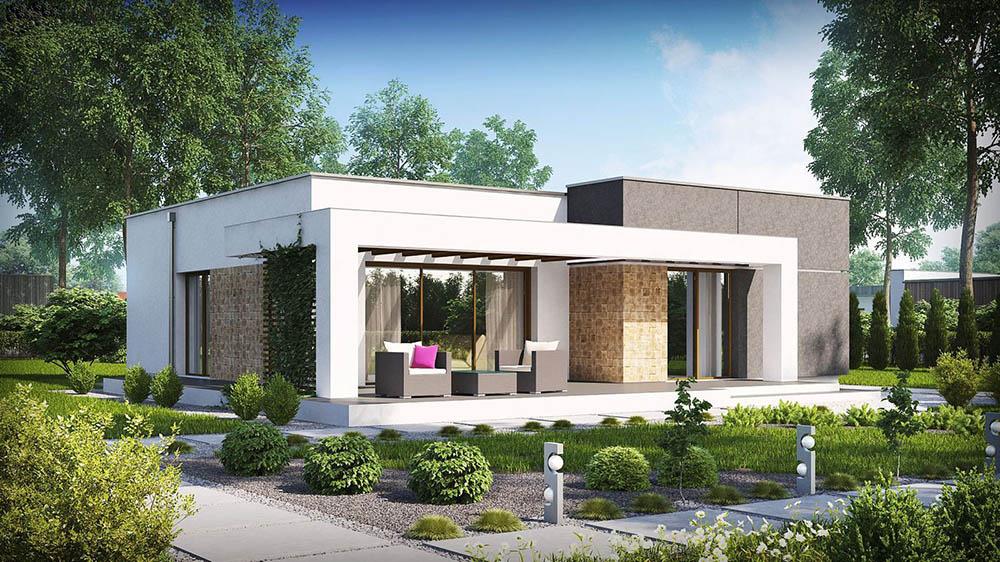 Thiết kế nhà vườn xanh mát và gần gũi với thiên nhiên