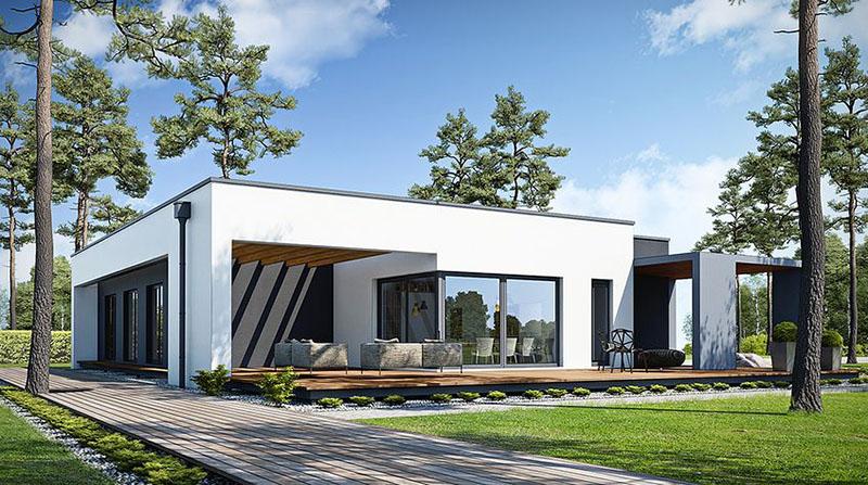 Biệt thự 1 tầng mái bằng |15+ Thiết kế xuất sắc đẳng cấp nhất