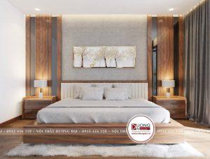Nội thất phòng ngủ gỗ tự nhiên | BST 99+ sang trọng đẳng cấp