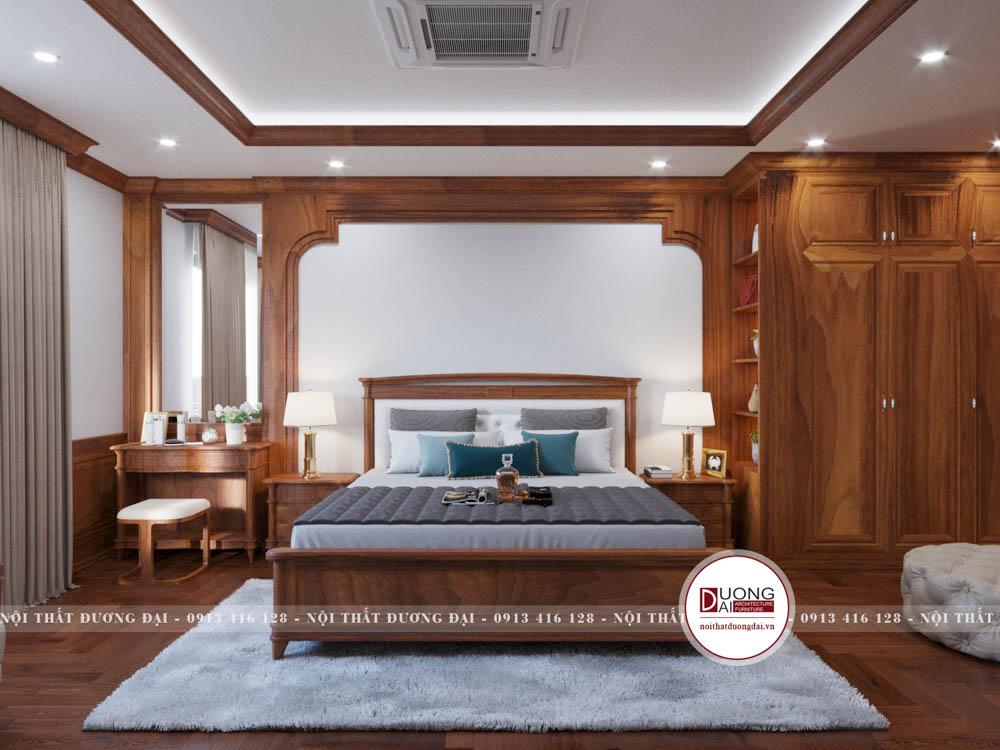 Thiết kế gỗ tân cổ điển cao cấp