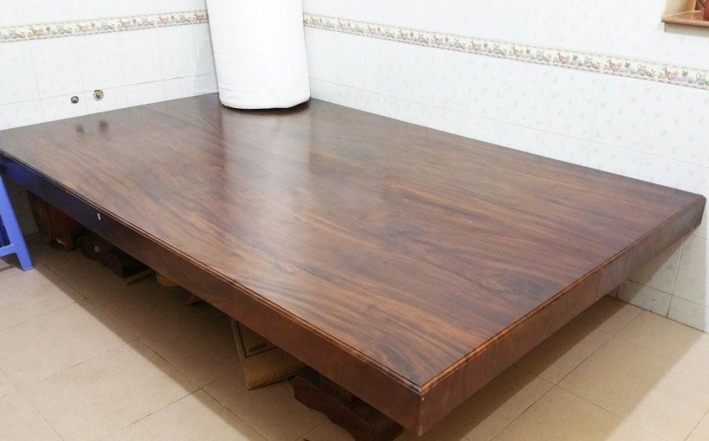 Sản phẩm giường gỗ muồng đen cao cấp