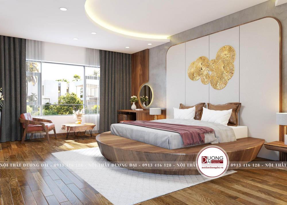 Phòng ngủ với thiết kế hiện đại và đẳng cấp
