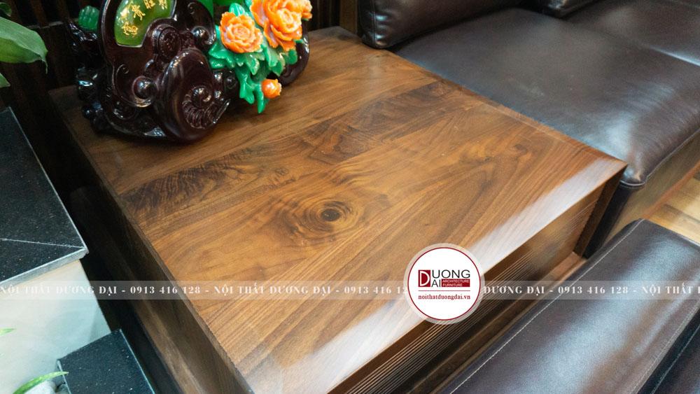 Sản phẩm gỗ óc chó thường sẽ có giá cao hơn so với các loại gỗ khác vì vân gỗ đẹp.