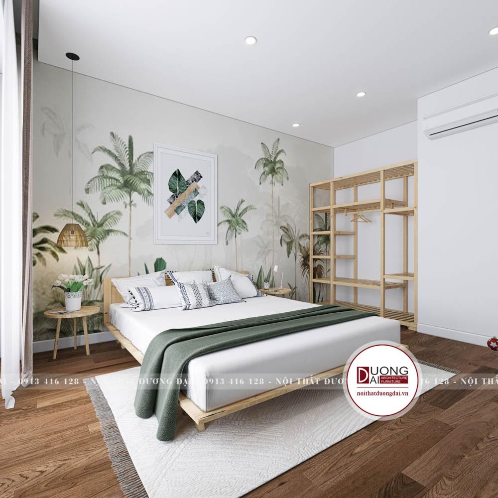 Thiết kế nội thất homestay 4 tầng   CĐT: Anh Toàn - Đại Lải