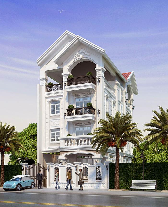 Kiến trúc mái thái rất tốt cho phong thủy của gia đình