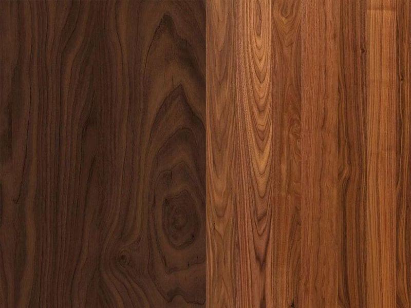 Cách nhận biết gỗ óc chó qua vân gỗ là cách đơn giản nhất