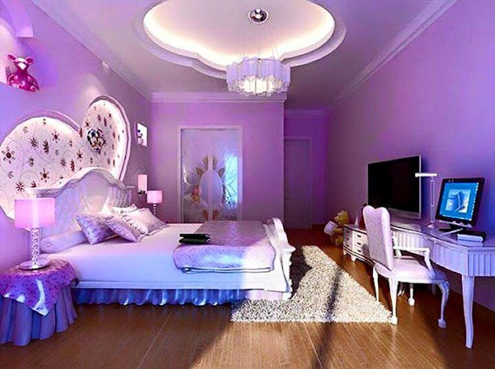 phối màu phòng ngủ hiện đại