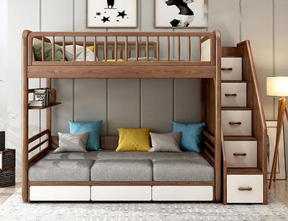 Lựa chọn giường đảm bảo phù hợp với độ tuổi và giới tính của bé