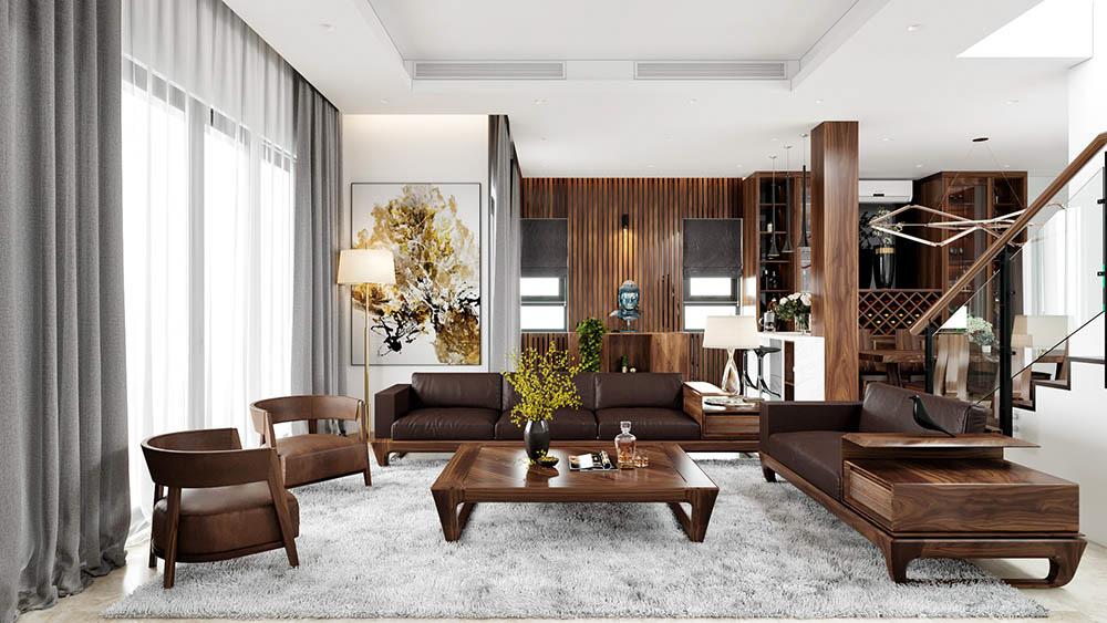 Kiểu dáng sofa phổ biến trong những căn nhà hiện đại