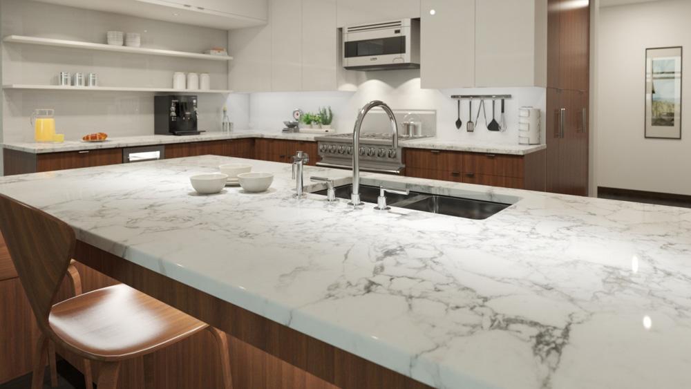 Việc chọn đá làm bàn bếp được nhiều người quan tâm