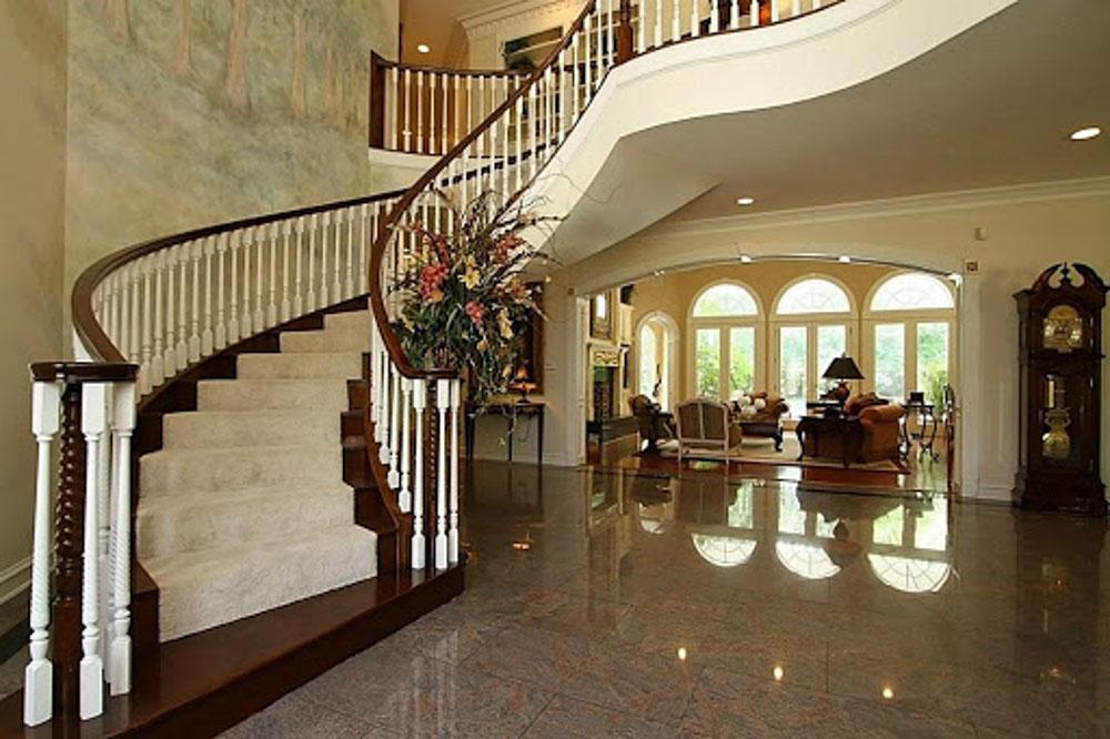 Đá cầu thang dành cho căn biệt thự sang trọng và cao cấp