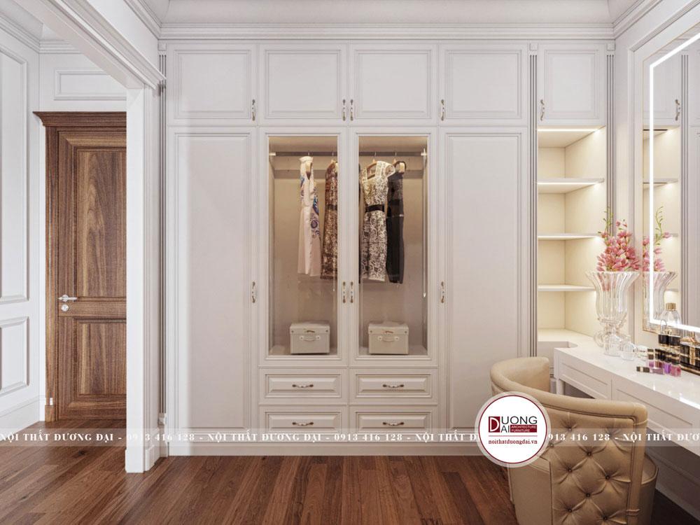 Có 2 tủ dành riêng cho vợ chồng