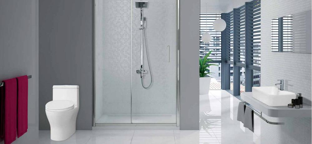 Không gian nội thất phòng tắm sang trọng