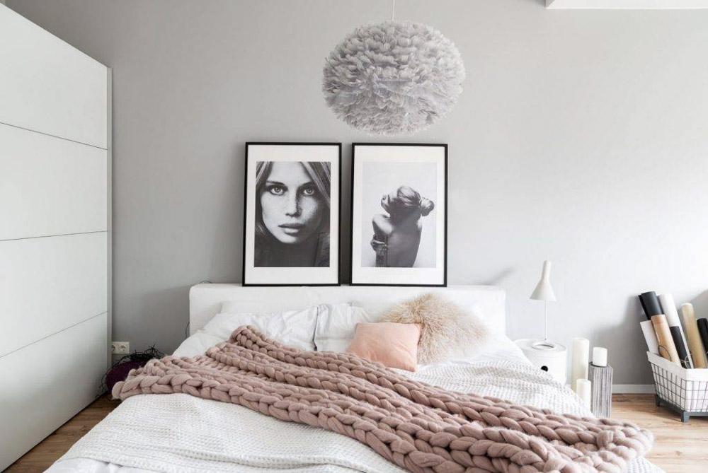 Căn phòng ngủ cực kỳ nghệ thuật