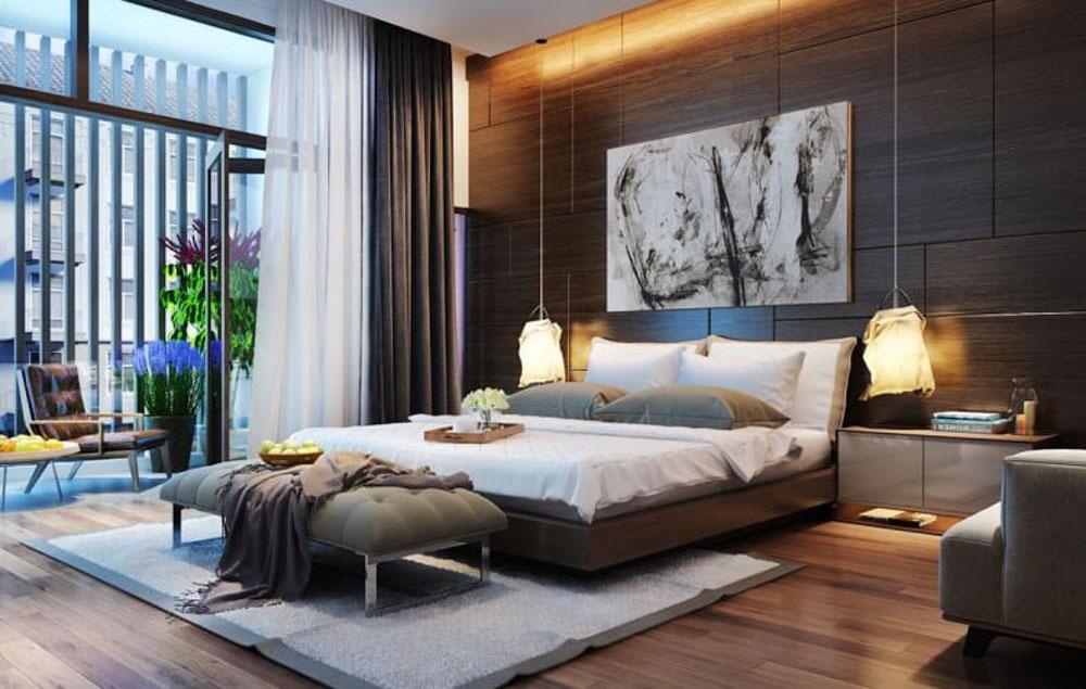 Phòng ngủ lãng mạn