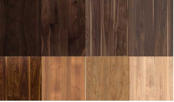 So sánh gỗ óc chó và gỗ teak