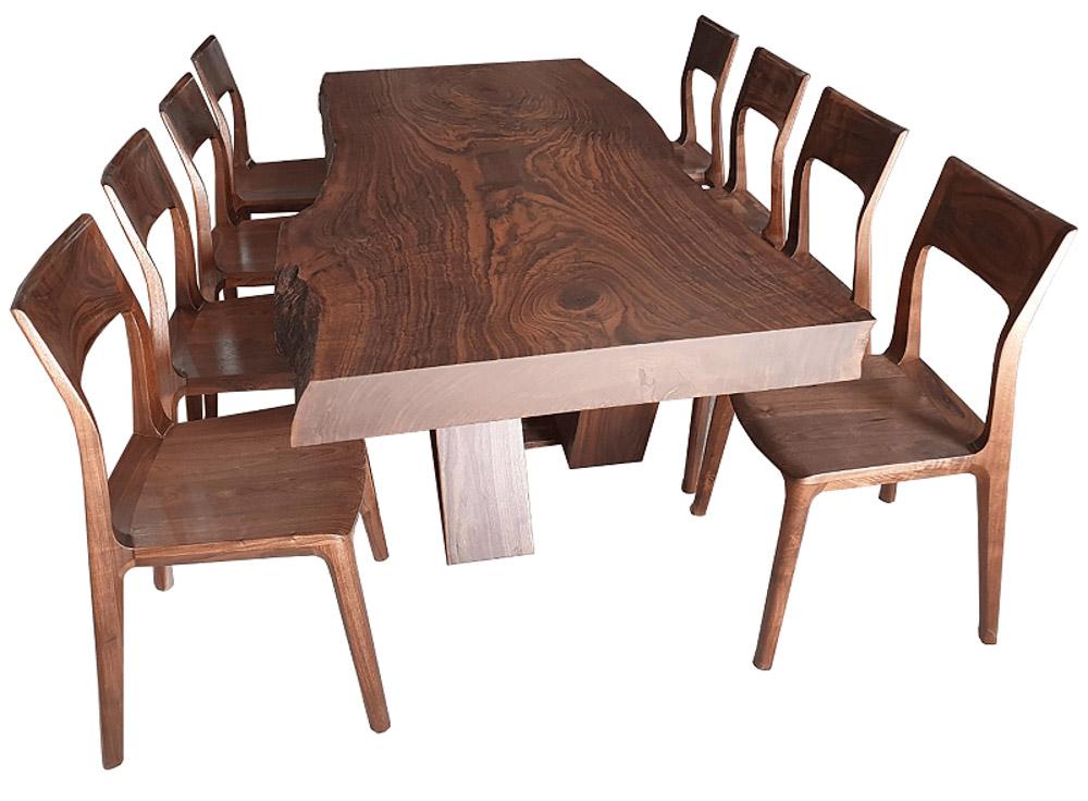 ứng dụng của gỗ óc chó làm bàn