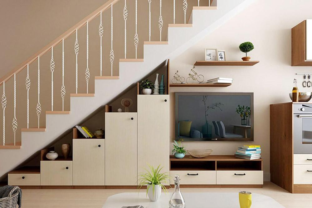 Cầu thang chính là một trong những chiếc cầu nối giao thông cực kỳ quan trọng trong không gian của ngôi nhà