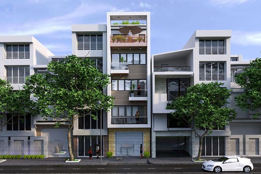 Mặt tiền là khu vực nằm ở phía trước của ngôi nhà với định hướng kiến trúc vô cùng đặc biệt