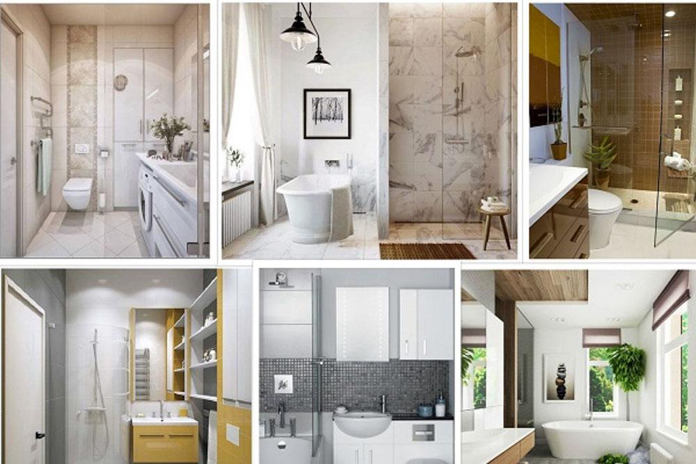 Có nhiều phương pháp cải tạo nhà tắm