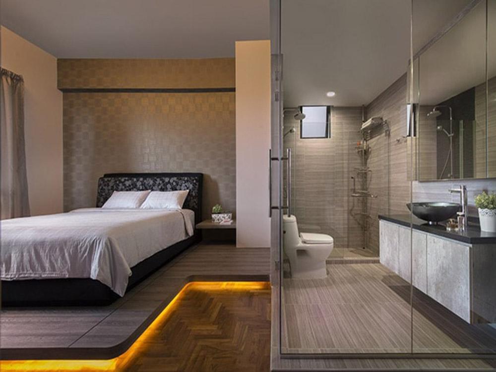 nhiều gia đình khi có thêm thành viên sẽ nghĩ đến việc cải tạo thêm nhà vệ sinh để thành phòng ngủ