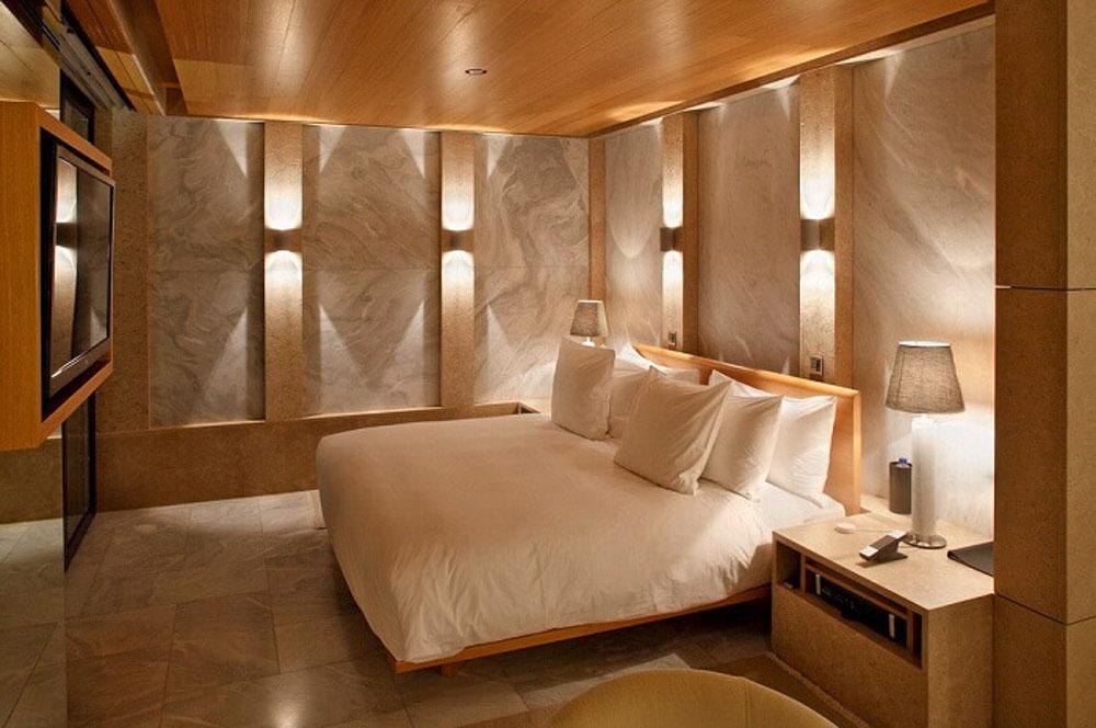 Đá ốp giúp căn phòng thêm phần ấm cúng và mềm mại hơn