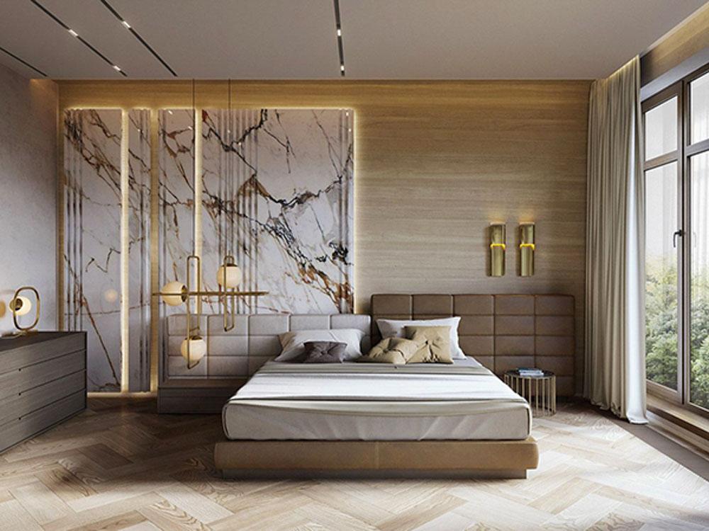 Ốp đá phòng ngủ mang tới nhiều ưu điểm vượt trội