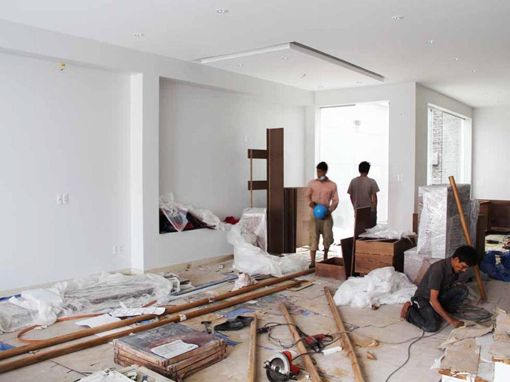 Các kiến trúc sư cần phải theo dõi quá trình thi công một cách thường xuyên mới đảm bảo được chất lượng của công trình.