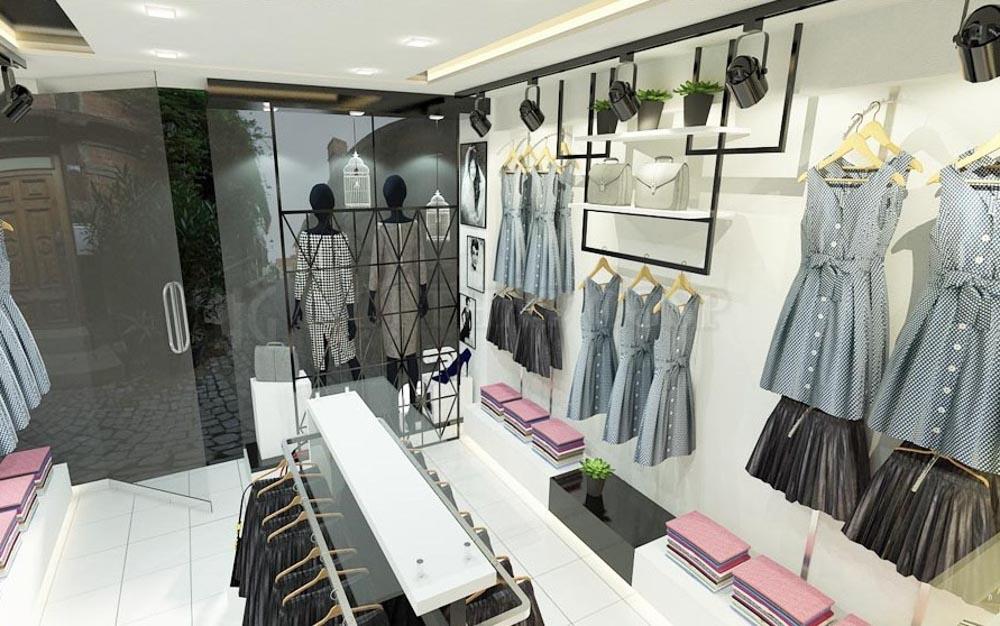 Thiết kế một đường di chuyển rõ ràng trong shop