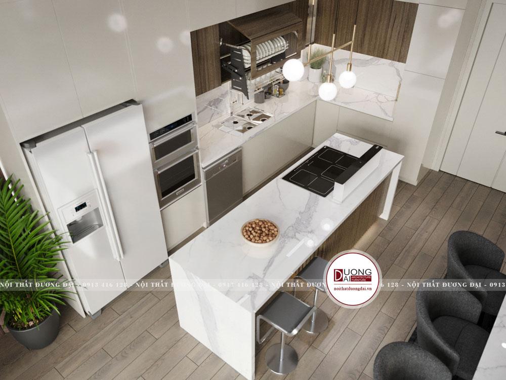 Kích thước tủ bếp tiêu chuẩn trong nội thất