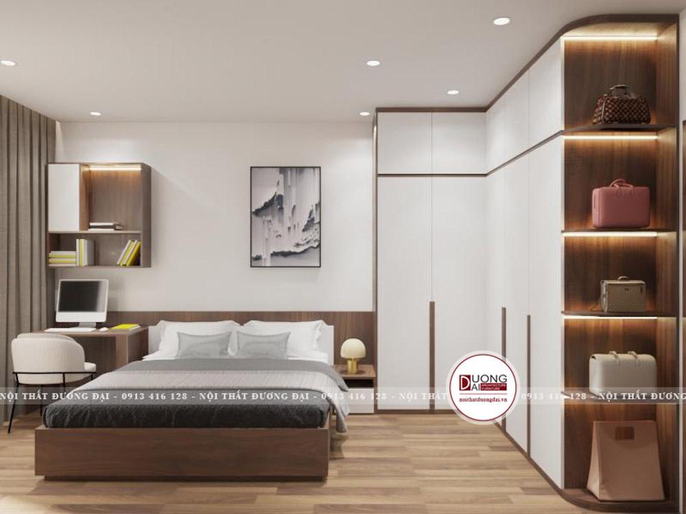 Phòng ngủ master hiện đại và bắt mắt