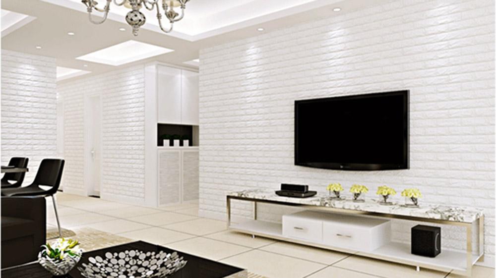 Chọn màu sắc phù hợp với không gian phòng khách