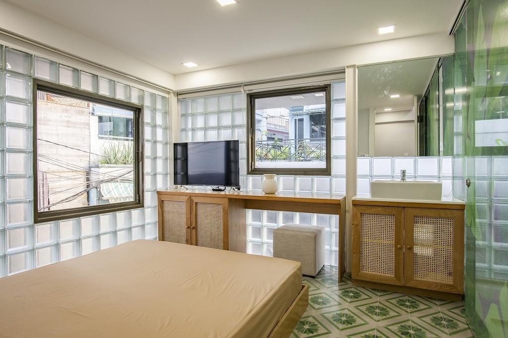 Những gam màu lựa chọn cho một căn nhà chỉ với 18m2 thường là những gam màu đơn giản và nhẹ nhàng