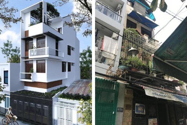 Tiến hành việc cải tạo nhà theo phong cách hiện đại