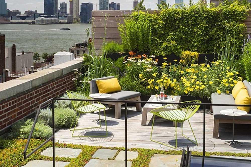 Thiết kế sân vườn với tiểu cảnh