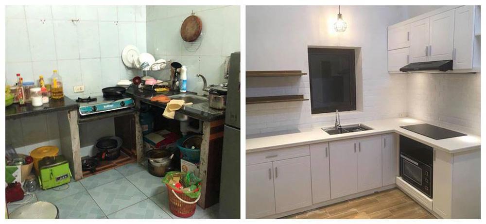 Biến không gian căn bếp trở nên sang trọng hơn