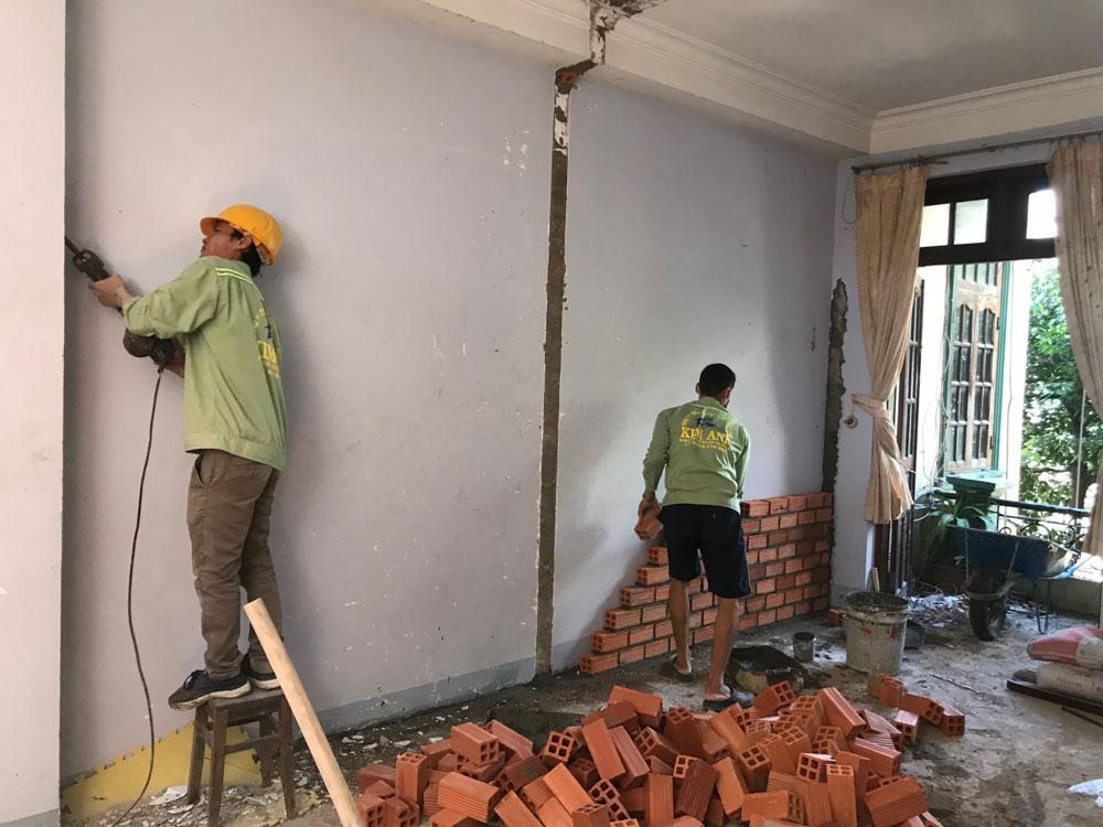 Có nhiều hạng mục bạn có thể lựa chọn khi sửa nhà