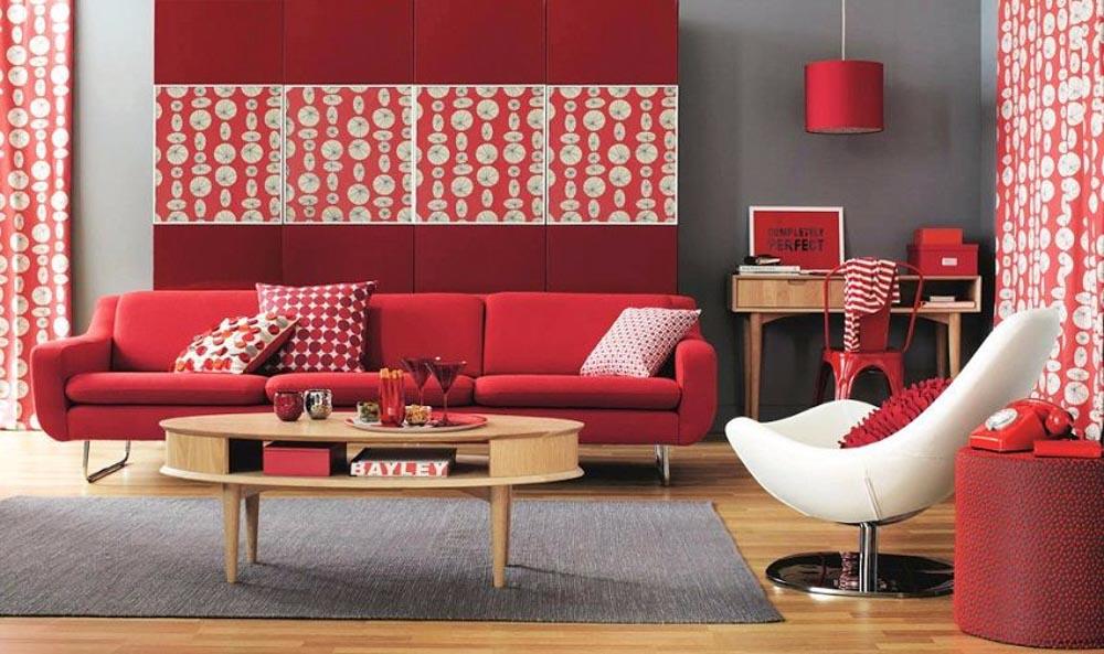 Không nên sử dụng những màu sắc và những đồ nội thất có tính tương khắc