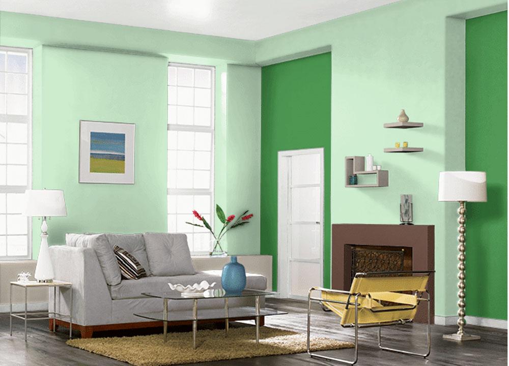 Thiết kế nội thất cho người mệnh mộc với không gian phòng khách