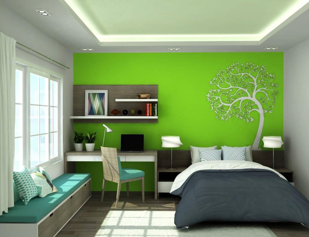 Thiết kế nội thất cho người mệnh mộc với phòng ngủ