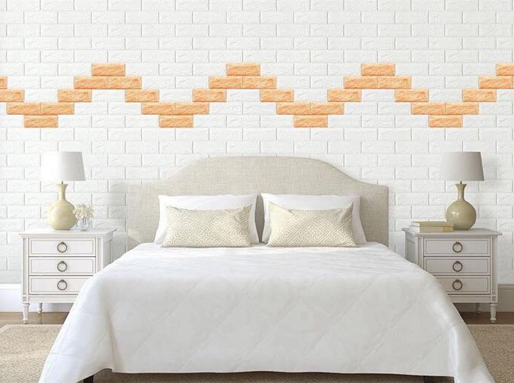 Có nhiều kiểu dáng xốp dán tường cực xinh xắn và sang trọng