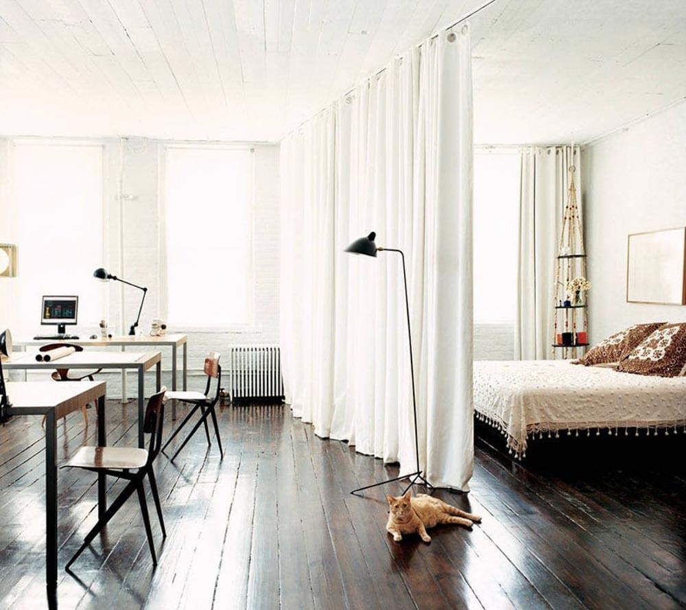 Rèm ngăn phòng ngủ