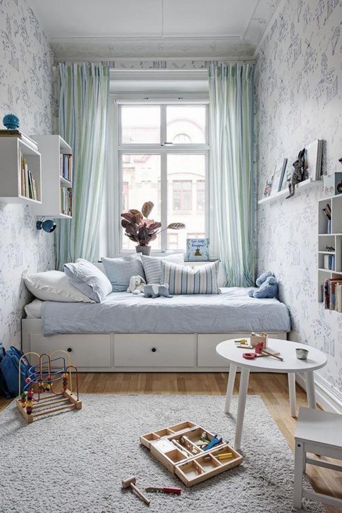 rèm phòng ngủ được ứng dụng chủ yếu nhằm mục đích che chắn cho cửa sổ và làm vách ngăn