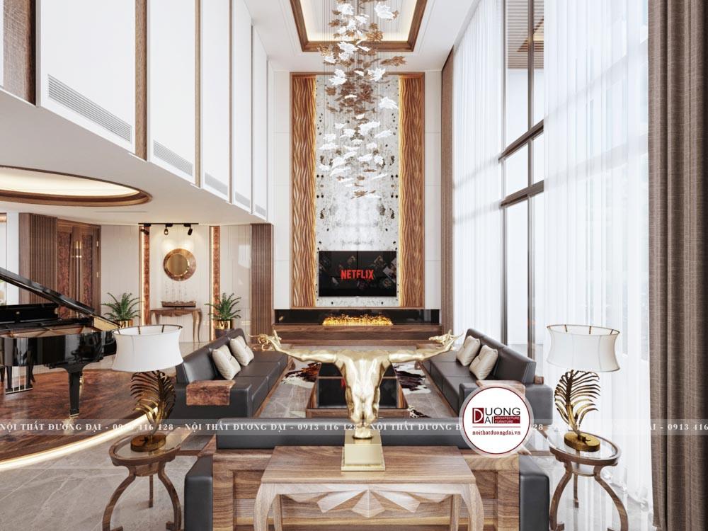 Căn phòng này được thiết kế với không gian rộng rãi và tầm nhìn thoáng đãng