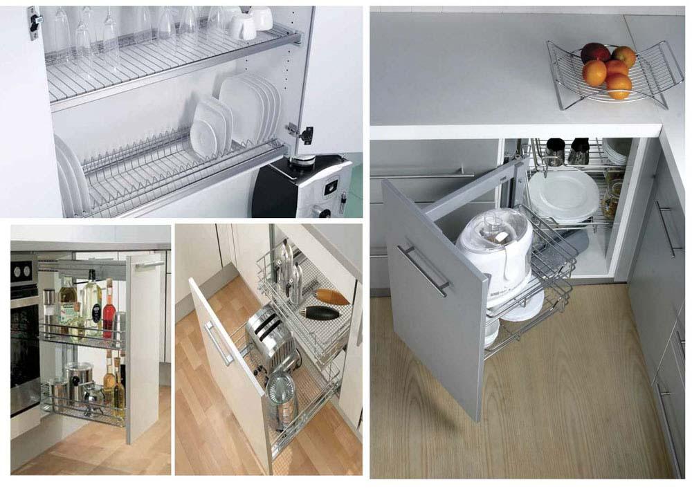 Khi bạn sở hữu cho mình được những phụ kiện tủ bếp thì nó sẽ giúp lưu trữ đồ đạc một cách khoa học nhất