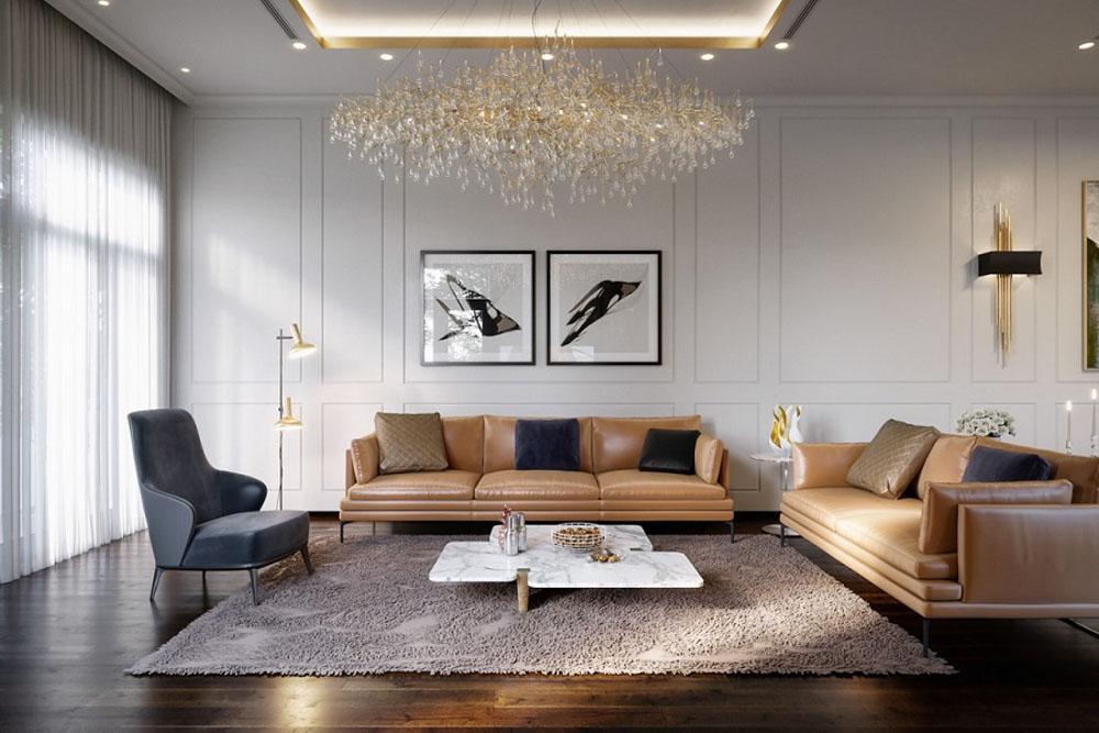 Những gia chủ Mệnh kim họ thường thích sử dụng các món đồ nội thất bằng đá hoa cương, bằng gốm sứ