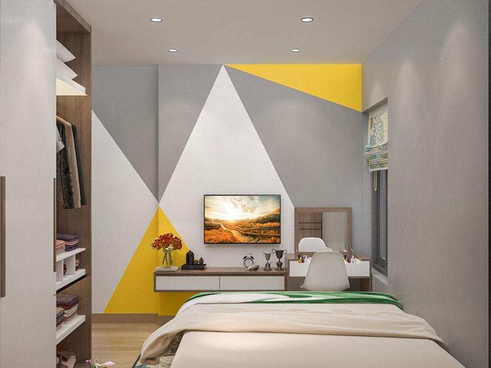 Phòng ngủ nhỏ cho người mệnh Thổ